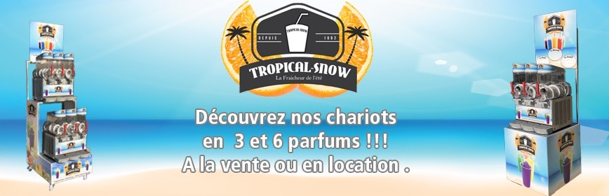 Chariot Tropical Snow